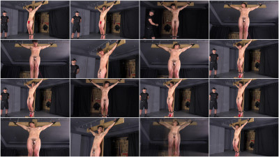 Crucified and Electrocuted Naked - Kevin Brady - Full HD 1080p