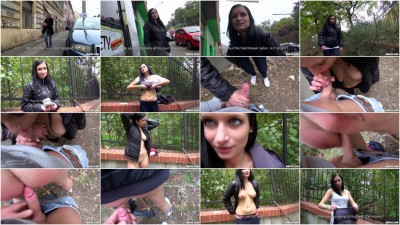 Outdoor Sex With A Czech Girl In A Park