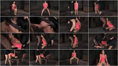 SexuallyBroken - Jan 12, 2015 - Bound newbie Mia Austin roughly fucked in strict restraints
