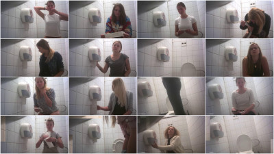 Hidden Camera In The Student Toilet — Vol. 11 - HD 720p