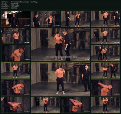 RusCapturedBoys — Devoted Boyfriend Sergei — All three parts