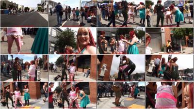 Happy Folsom Street Fair - Public Sissy Handjob Humiliation
