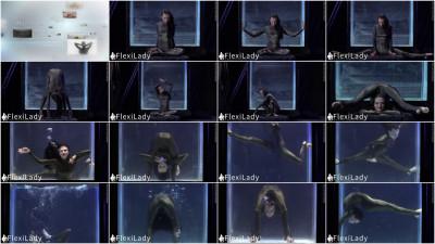 Melina - Underwater Contortion