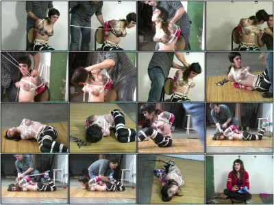 Petite and Busty, Cupcakes is Hogtied - Part 2