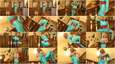 Turquoise Lucra Catsuit - Full HD 1080p