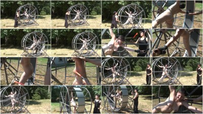 Menaced in Gord's Mouse Wheel - english, tied, action, bdsm