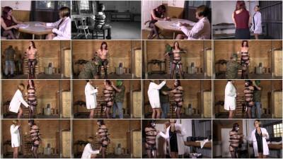 Super bondage, domination and torture for horny Brunette