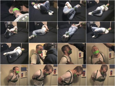 Slave gay Derek extreme bondage gags and Humiliation! enjoy!