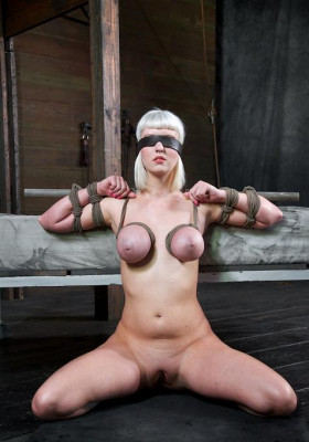 Cherry is just a bound helpless rag doll