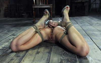 Unforgettable beautiful slave girl in bondage