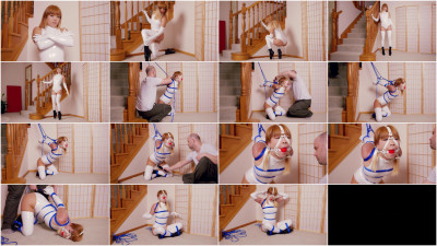 White Stretch PVC Hotness — Mina — Full HD 1080p