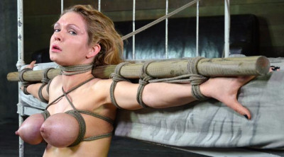 Big breasted Rain DeGrey in bdsm