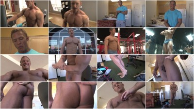 Pumping Muscle — Bodybuilder Sam S Photo Shoot Part 3