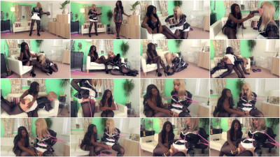download balls (The English Mansion - Miss Foxxs Useless Maid - Domination HD).