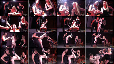 Lexi Sindel, Saharra Huxley - Strap-On Interrogation