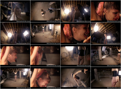 Brutal Master - Elle - First Bullwhipping