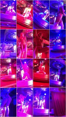 stripper dance nude in club