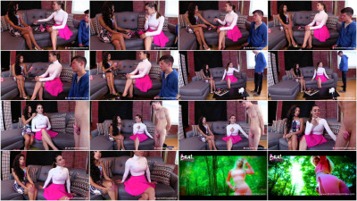 Sasha Foxxx And Jennifer - Chastity Coach First Fitting