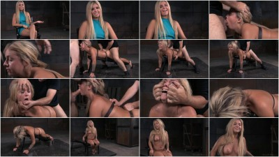 Madelyn Monroe - Fresh faced starlet belt bound down and roughly fucked (2015)