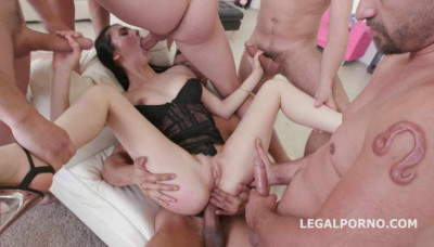 Download Crystal Greenvelle In Brutal Anal Orgy With DP
