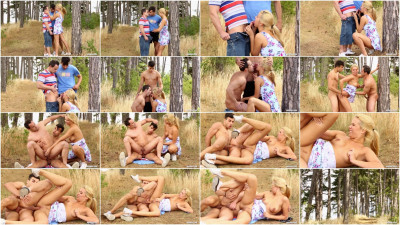 Three little bisexuals lost in the woods - threesome, horny, hole, cum