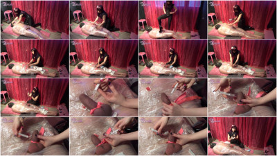 Mistress Urnom - Saline Filled Erection