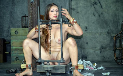 Slim figure and sexy body in torture