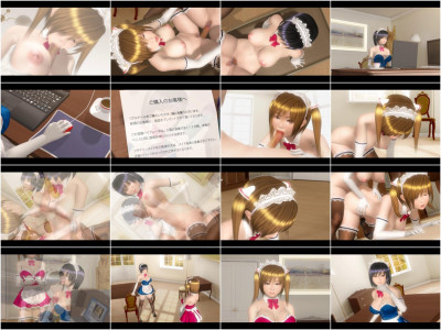 Impregnation Bible - A Maid on Sale - 3d HD Video