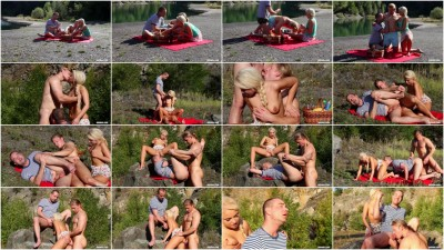 BiMaxx Bringing Bi To The Great Outdoors (video, action, outdoor sex)!