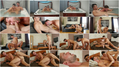 European Studs have a hot bareback session