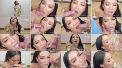 Hot Asia Vargas - Bukkake