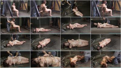 Riley Jane Ziptied 2 part - BDSM,Humiliation,Torture HD 720p