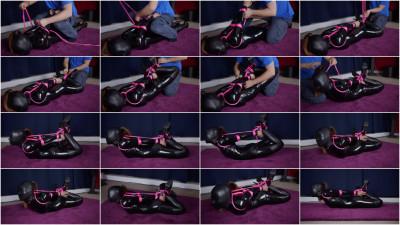 Hogtied and Faceless -Mina — Full HD 1080p