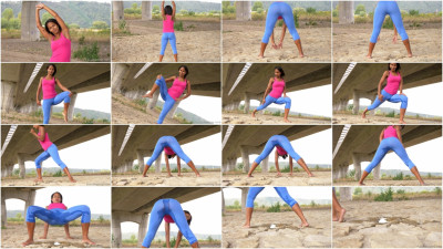 Outdoor Yoga - Isabella Christin - Full HD 1080p...