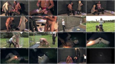 Real-Time Footage 24/7 Slavery Day Five Mistress Sidonia's, Kinky Dirty (2014)