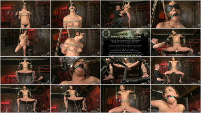 Bondage, spanking, strappado and torture for sexy model part 1