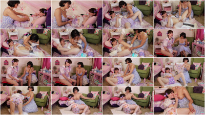 Baby Natalie Playtime with Mommy