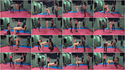 Mistress Susi, Jet Setting Jasmine - The Kinky Fitness Gym