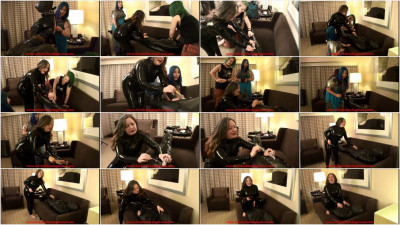 Testing Lori Tube Chastity with Anna Valentina and Denali Winter - vid, new, lucky, people, enjoy