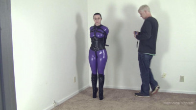 Serene Isley – Ballet Boots, Catsuit and Hooded Suffering