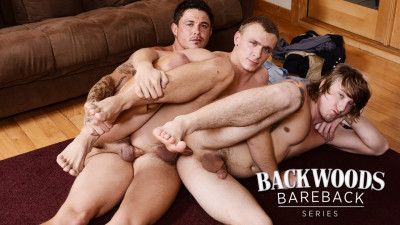 Backwoods Bareback Part 2 Tom Faulk, Bryce Rude, Sebastian Young (2015)