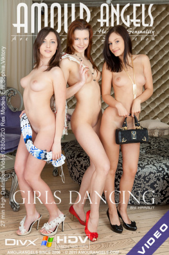 Description AmourAngels - Girls dancing - Emi, Sophia, Viktory -(by harmut)