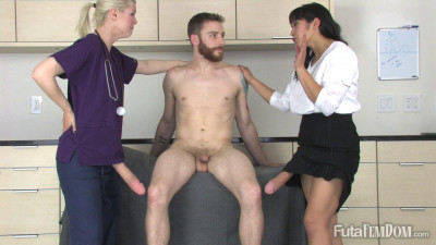 Doctor and Nurse Do Their Patient