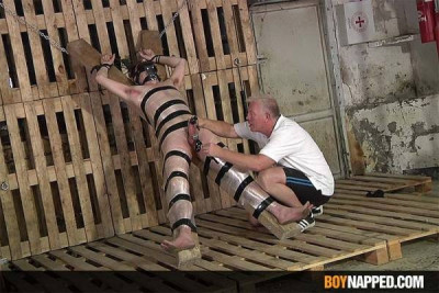 BNapped - Sebastian Kane & Pursue Parker - Whole Kinky Cock Sport - Piece 2