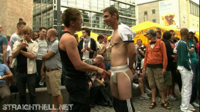 Dimitri – Ordered to assume humiliating naked positions