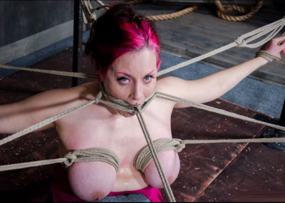 Iona Grace Gets A Mouth Full Of Gag!
