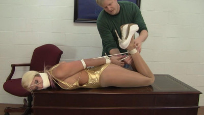 Description Holly Wood : Bribe Attempt Turns To Bondage