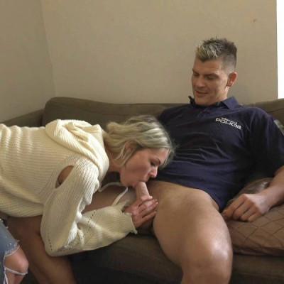 Claudia Macc - Fuck with horny cop FullHD 1080p