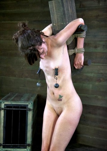 Innocent girl brutal fuck in BDSM