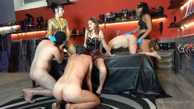 Mistress Gaia - Gagging To Be Ass Fucked
